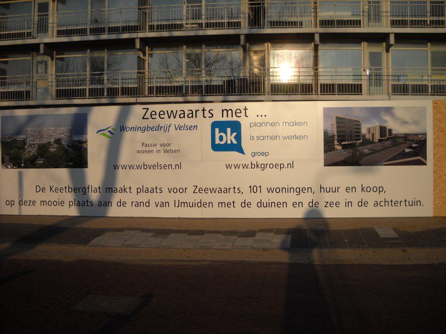 Totaalsloop Keerbergflat IJmuiden