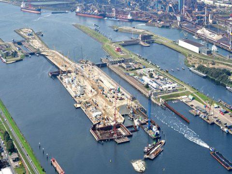 Grote Zeesluis IJmuiden, BK ingenieurs