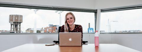 Lisa Plooij, studente aan Inholland, vertelt openhartig over haar afstudeerstage bij BK ingenieurs