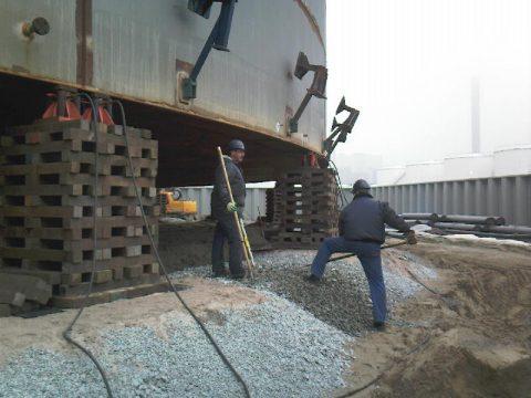 onrondheidsmetingen, landmeten, BK ingenieurs, nieuwbouw en onderhoud brandstoftanks
