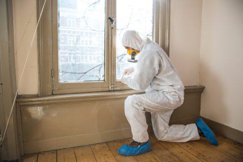 BK ingenieurs, asbestonderzoek, asbestinventarisatie, destructief onderzoek, visuele inspectie, asbesthoudende kit