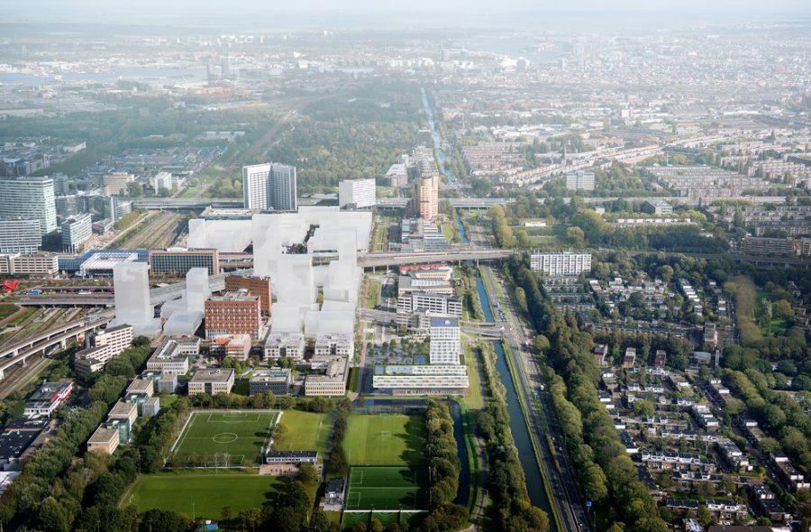 BK ingenieurs, Synchroon, Floating Gardens, projectontwikkelaar, Sloterdijk, SITA-gebouw