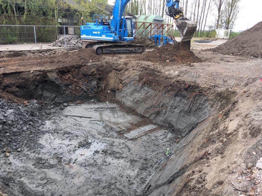 BK ingenieurs, Bosatex, ontgraven, BRL6002, milieukundige begeleiding