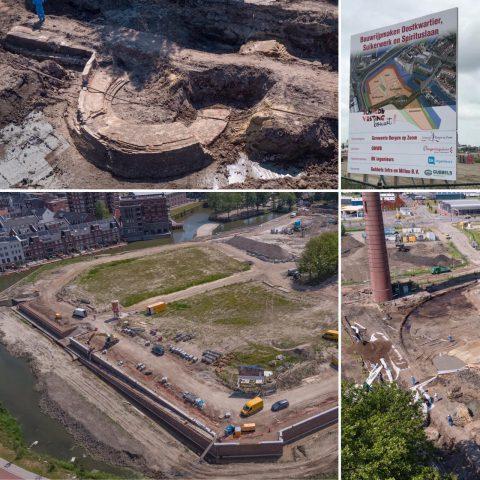 Bodemsanering en milieukundige begeleiding voorafgaand aan de nieuwbouw van woningen in Bergen op Zoom